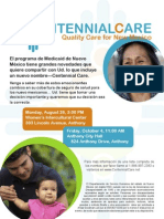 8-26-13 Centennial Care Informational Workshop