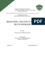 SELECCIÓN, CÁLCULO Y DISEÑO DE UN ENGRANE.docx