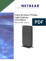 Manual Netgear (p34) Cg3100dv3 Um Sp 28oct11