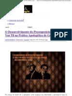 O Desenvolvimento do Pressuposicionalismo de Van Til na Prática Apologética de Greg Bahnsen _ Portal da Teologia.pdf