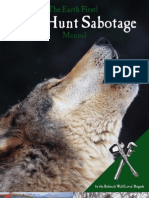 Wolf Hunt Sabotage Manual