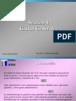 Tutorial CIO Control Gastos Generales