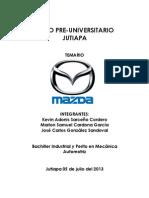 Temario Mazda
