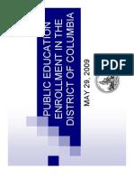 Dc Public Education Enrollment