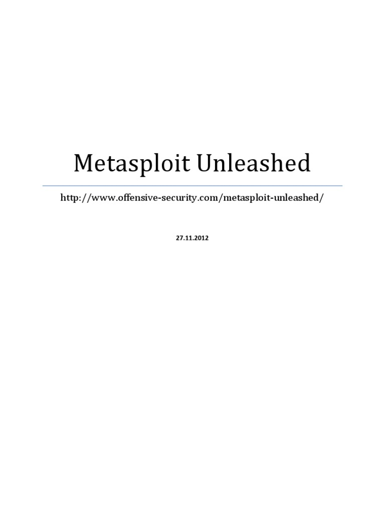 Metasploit Unleashed | Internet Information Services | File