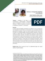 CASSANY Y AYALA, Nativos e Inmigrantes Digitales en La Escuela