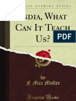 India What Can It Teach Us - 9781451017212