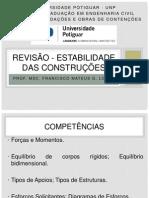 Revisão de Estabilidade das Construções