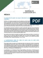 Panorama de la educacion 2013 Mexico OCDE.pdf