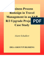 Business Process Redesign in Travel Management in an Sap R 3 Upgrade Project - A Case Study