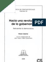 Calame, Pierre - Hacia Una Revolucion de La Gobernanza, Paginas 29 a 155