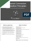 Universal Conversion Optimization Principles