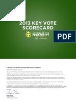 NH 2013 Scorecard