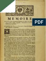 Memoire pour les abbé & chanoines réguliers de l'abbaye de Sainte Genevieve au Mont à Paris