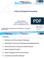 Airport Evolution and Capacity Forecasting - GARS Amsterdam - 2011