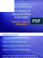 Treinamento Microsoft Office Excell 2007
