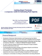 Benchmarking Airport Terminals