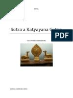 Sutra a Katyayana Gotra