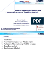 Benchmarking Airports Based on Their Profitability Frontier - Presentation ICCL 2012