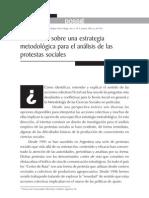 Adrian Scribano - Reflexiones Sobre Una Estrategia Metodologica Para El Analisis de Las Protestas Sociales