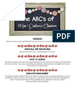 the abcs of miss ps classroom