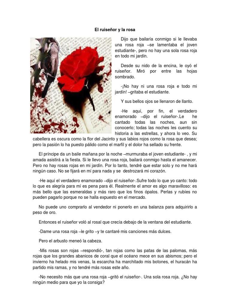 El ruiseñor y la rosa | Rosa | Amor | Free 30-day Trial