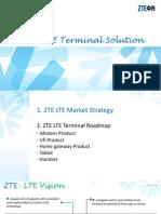 ZTE LTE Termianl Solution