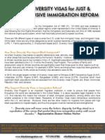 Diversity Visa Fact Sheet