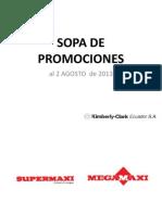 Sopa de Promociones BCC Supermxi Akis 2 AGOSTO