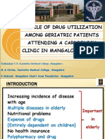 Drug Utilization:Geriatric Patients In A Cardiology Clinic