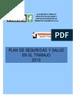 Plan de Seguridad y Salud en El Trabajo Cementos Pacasmayo s.A
