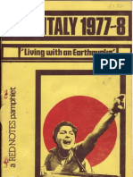 Italy1977-8 - Living With an Earthquake - Red Notes