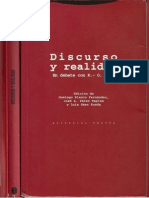 Discurso y Realidad. En debate con Karl-Otto Apel