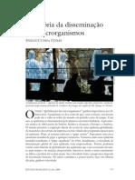 A história da disseminação dos microrganismos - Cunha