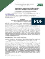Avaliação das velocidades das transmissões de tratores agrícolas com rodas de acordo com sua classificação quanto à potência