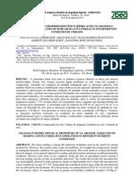 Modificações nas propriedades físico-hídricas de um argissolo submetido às operações de semeadura e pulverização em diferentes condições de umidade