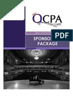 QCPA Sponsorship Package