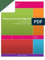 Proyecto de investigación - Marina Pindar