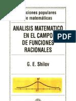 Shilov_Analisis Matematico en El Campo de Las Funciones Racionales