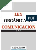 Ecuador - Ley Orgánica de Comunicación
