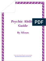 Alizons Psychic Secrets Psychic Ability Guide (
