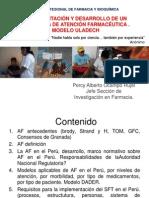 IMPLEMENTACIÓN DE SEGUIMIENTO FARMACOTERAPÉUTICO