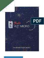 DANFOSS VLT Micro Variador Frecuencia