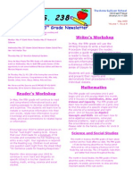 5th Grade May Newsletter