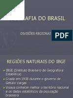 Geografia Do Brasil. IBGE
