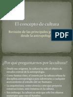 El Concepto de Cultura