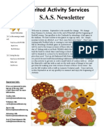 September Newsletter 2013