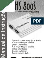 Manual Falcon Modulo de Potencia Hs800s