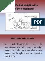La Poltica De Industrializacin Del Gobierno Mexicano.ppt
