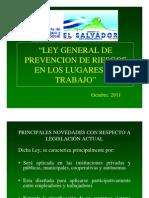 Ley General de Prevencion de Riesgos en Los Lugares de Trabajo-parte i